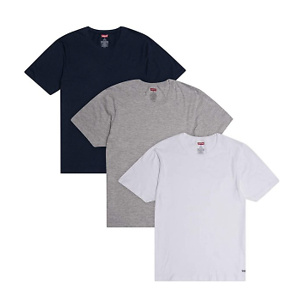 Levi's Men's Undershirts 3 Pack - Short Sleeve