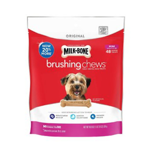 Milk-Bone Original Brushing Chews Daily Dental Dog Treats