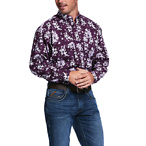 Rio Print Stretch Classic Fit Shirt