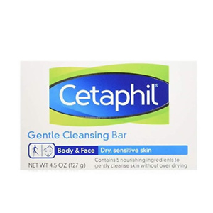 Cetaphil Gentle Cleansing Bar for Dry/Sensitive Skin