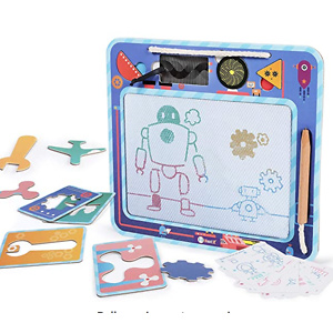 NextX Magnetic Doodle Board, Kids Drawing Board