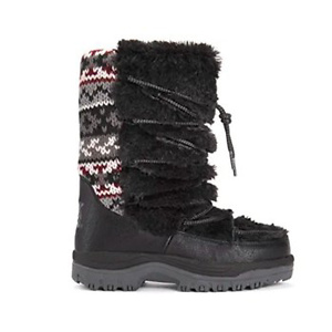 MUK LUKS Women's Massak Snowboots Snow Shoe
