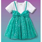 Hairdorables Aqua Big Bow Mesh Dress