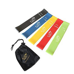 Fit Simplify Resistance Loop Exercise Bands for Home Fitness