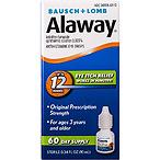 Bausch & Lomb博士伦Alaway 抗过敏眼药水,10ml