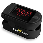 Zacurate Pro Series 500DL Fingertip Pulse Oximeter Blood Oxygen Saturation Monitor with Silicon Cover