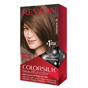 Revlon Colorsilk Beautiful Color, Permanent Hair Dye with Keratin