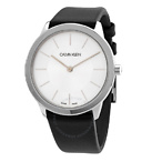 CALVIN KLEIN Minimal Silver Dial Ladies Watch