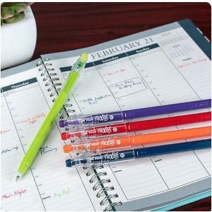 Pilot Frixion ColorSticks Erasable Gel Ink Pens