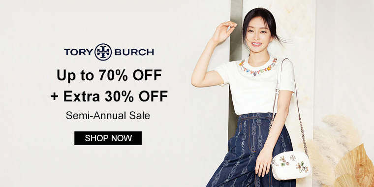 Tory Burch: Up to 70% OFF + Extra 30% OFF Semi-Annual Sale