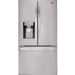 Home Depot:  LG Electronics 22 cu. ft. French Door Smart Refrigerator