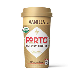 FORTO Energy Coffee – Vanilla Latte