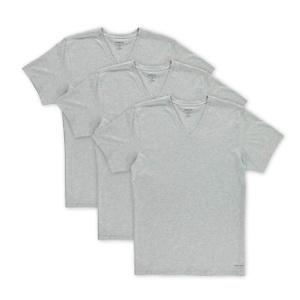 Calvin Klein Men's Cotton Classics Multipack V Neck T-Shirts