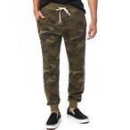 Campus Printed Burnout French Terry Jogger Pants