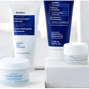 KORRES: Free 2 Week Supply of Greek Yoghurt Cleanser with Every Order