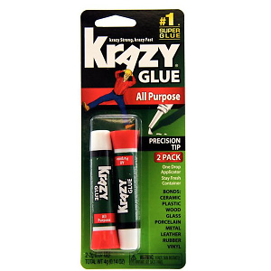 Krazy Glue KG517 Purpose Super Glue