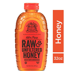Nature Nate's 100% Pure, Raw and Unfiltered Honey