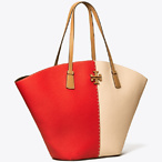 MCGRAW COLOR-BLOCK SHOPPER TOTE