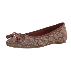 Coach Bea Leather Flat