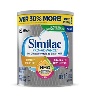 Similac Pro-Advance Baby Formula for Immune Support
