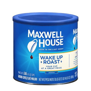 Maxwell House Wake Up Roast Medium Ground Coffee