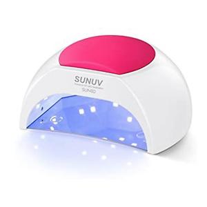 Gel UV Nail Lamp, SUNUV 48W UV LED Nail Dryer Light