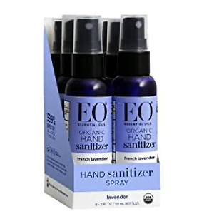 EO Organic Hand Sanitizer Spray: French Lavender
