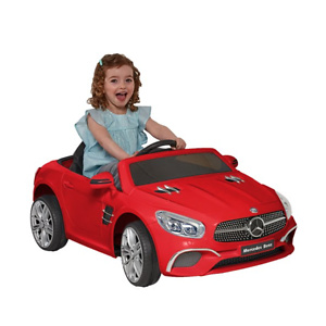 6 Volt Mercedes SL-400 RED Convertible Kids Car