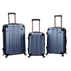 Rockland 3件套蓝色行李箱
