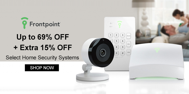 Frontpoint Security: Up to 69% OFF + Extra 15% OFF Select Home Security Systems