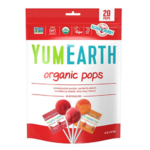 YumEarth 有机天然水果棒棒糖