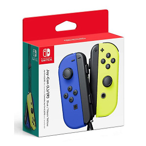 Nintendo Blue/ Neon Yellow Joy-Con (L-R) - Switch