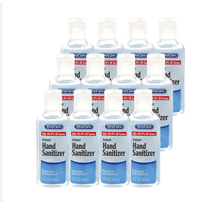 Liquid Antibacterial Hand Sanitizer with Vitamin E Moisturizer