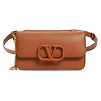 VALENTINO GARAVANI V-Sling Leather Convertible Belt Bag