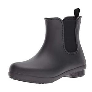 Crocs Women's Freesail Chelsea Ankle Rain Boots