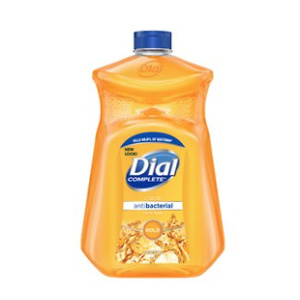 Dial Antibacterial Liquid Hand Soap Refill, Gold, 52 Ounce