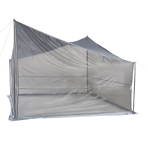 Ozark Trail Tarp Shelter with UV Protection and Roll-up Screen Walls