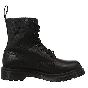 Dr. Martens Women's 1460 Pascal Mono 8 Eye Boots, Black, 6 Medium US