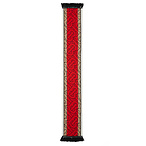 BURBERRY Football Stripe Monogram Cashmere Scarf
