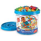 Learning Resources 儿童150件豪华齿轮拼插玩具桶