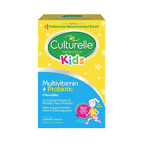 Culturelle Kids Complete Multivitamin + Probiotic Chewable