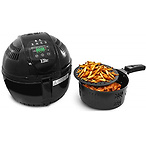 Maxi-Matic Two-Tiered Electric Digital Air Fryer Cooker