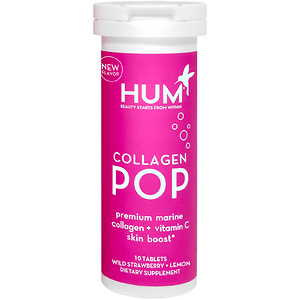 Lookfantastic US & Canada:HUM Nutrition Collagen POP Premium Marine Collagen + Vitamin C Skin Boost