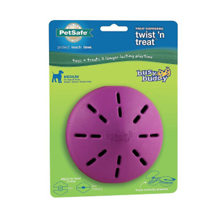 Busy Buddy Twist 'n Treat Treat Dispenser Dog Toy