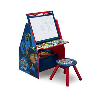 Delta Children Kids Easel and Play Station