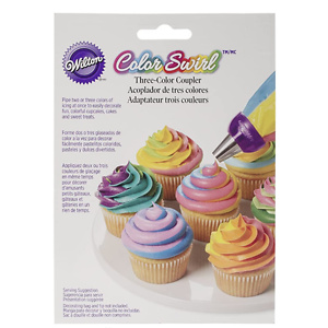 Wilton ColorSwirl 3 Color Coupler