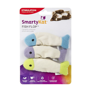 SmartyKat 小鱼造型猫薄荷玩具