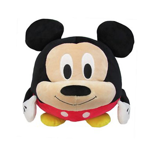 Disney Mickey Mouse Round Cuddle Pal Stuffed Animal Plush Toy