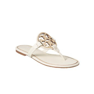 Tory Burch Metal Miller Leather Sandal