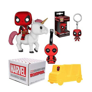 Funko Marvel Collector Corps Subscription Box - Deadpool Theme